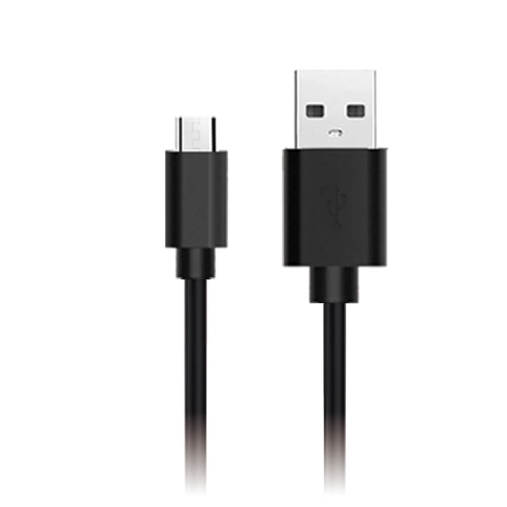 Black Micro USB cable TEKNO KORD